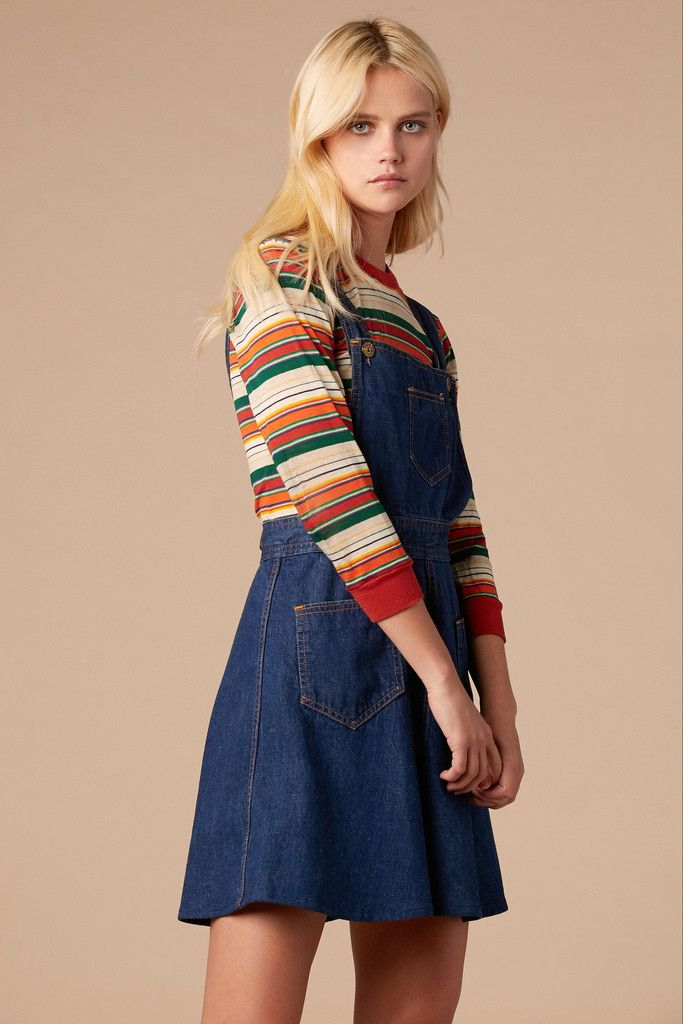 how to wear an overall dress