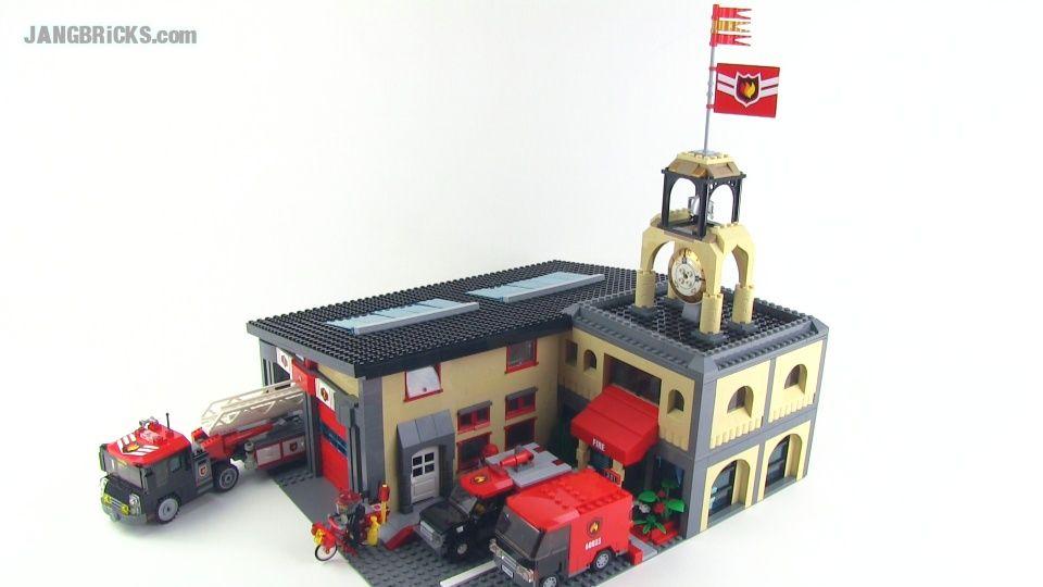 Lego Custom Fire Station Moc Lego Pinterest Lego Lego Fire