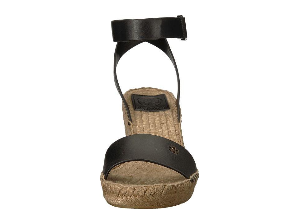 0232d52b399 Tory Burch Bima 2 90mm Wedge Espadrille Women s Shoes Perfect Black ...