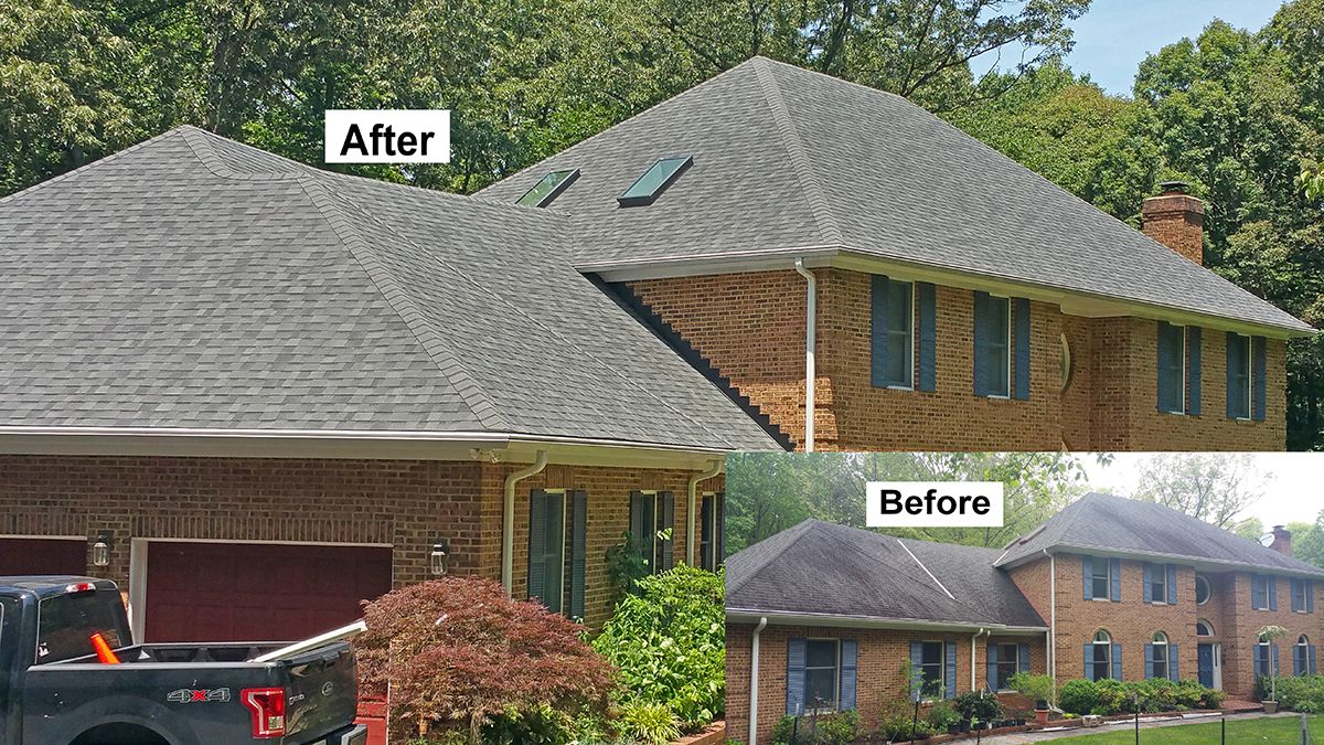Roof Replacement Installation Washington Dc Roof Installation Roofing Contractors House Styles