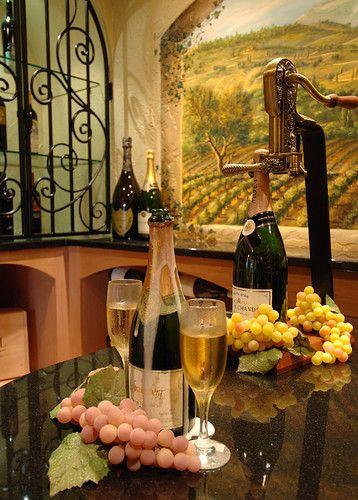 *Bellamore mediterranean wine cellar