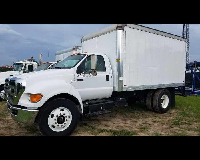 2008 Ford F750 14ft Box Truck 14900 Http Www Afetrucks Com Medium Duty Trucks Van Trucks Box Trucks Dry C Trucks For Sale Trucks Medium Duty Trucks