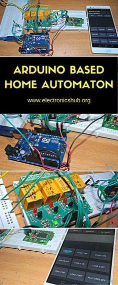 How To Make Arduino Based Home Automation Project via Bluetooth ...