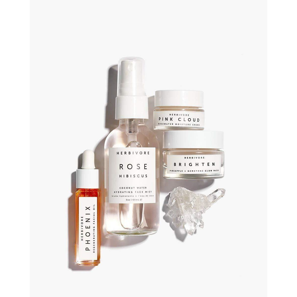 Herbivore Botanicals  HYDRATE  GLOW Natural Skincare Mini Collection