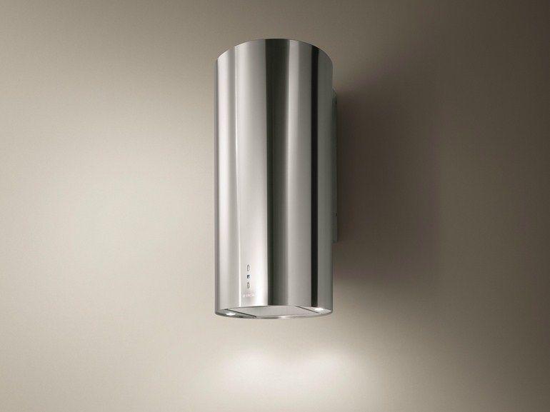 Cappa in acciaio inox a parete TUBE | Cappa a parete - Elica ...