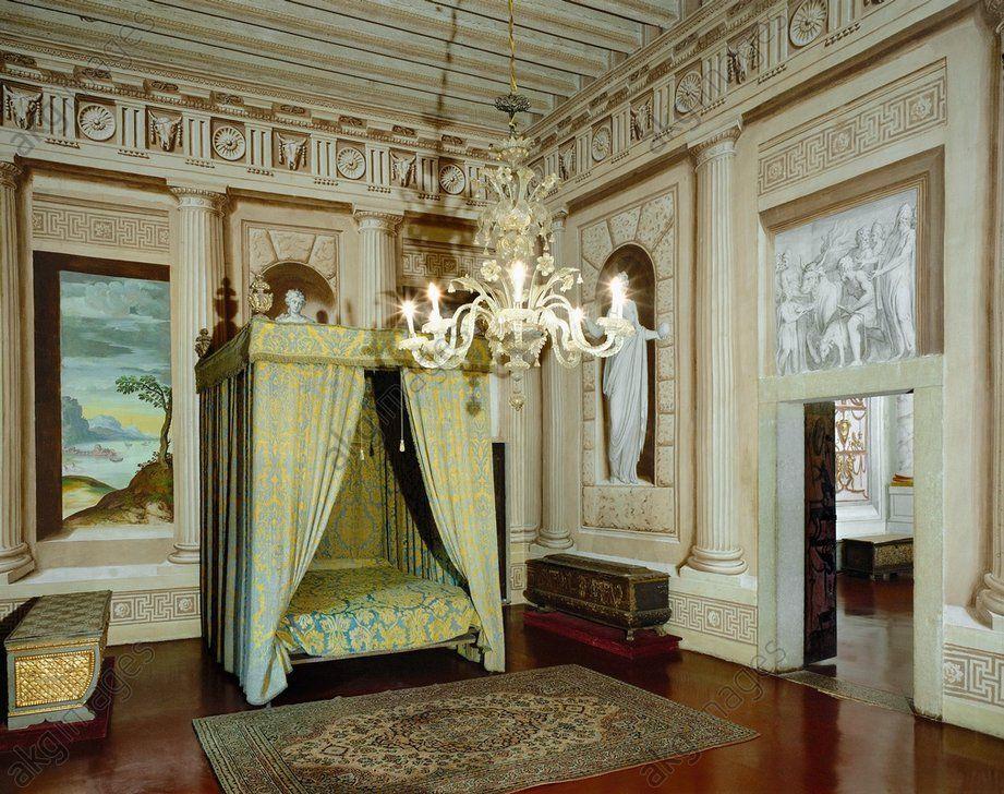 AKG-imágenes -Cuarto. Villa Godi-Malinverni Lonedo, Italia Villa Godi-Malinverni, Lugo, Italia
