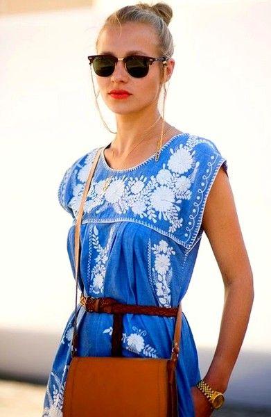 Living to Mesmerize: Vestidos étnicos/Etnic dresses reminds me of classic greek style