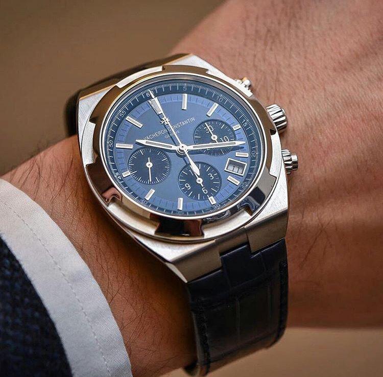 Vacheron Constantin Overseas Chronograph 5500v Luxus Uhren Modische Armbanduhren Stilvolle Uhren