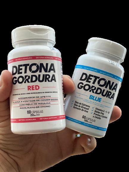 Detona gordura blue e red funciona?   Carbs, Low carb, Dieta