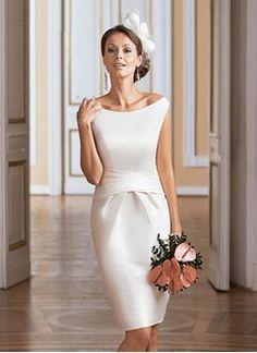 short mini knee length tea length wedding dresses wedding dresses 2016 page 2 wedding. Black Bedroom Furniture Sets. Home Design Ideas