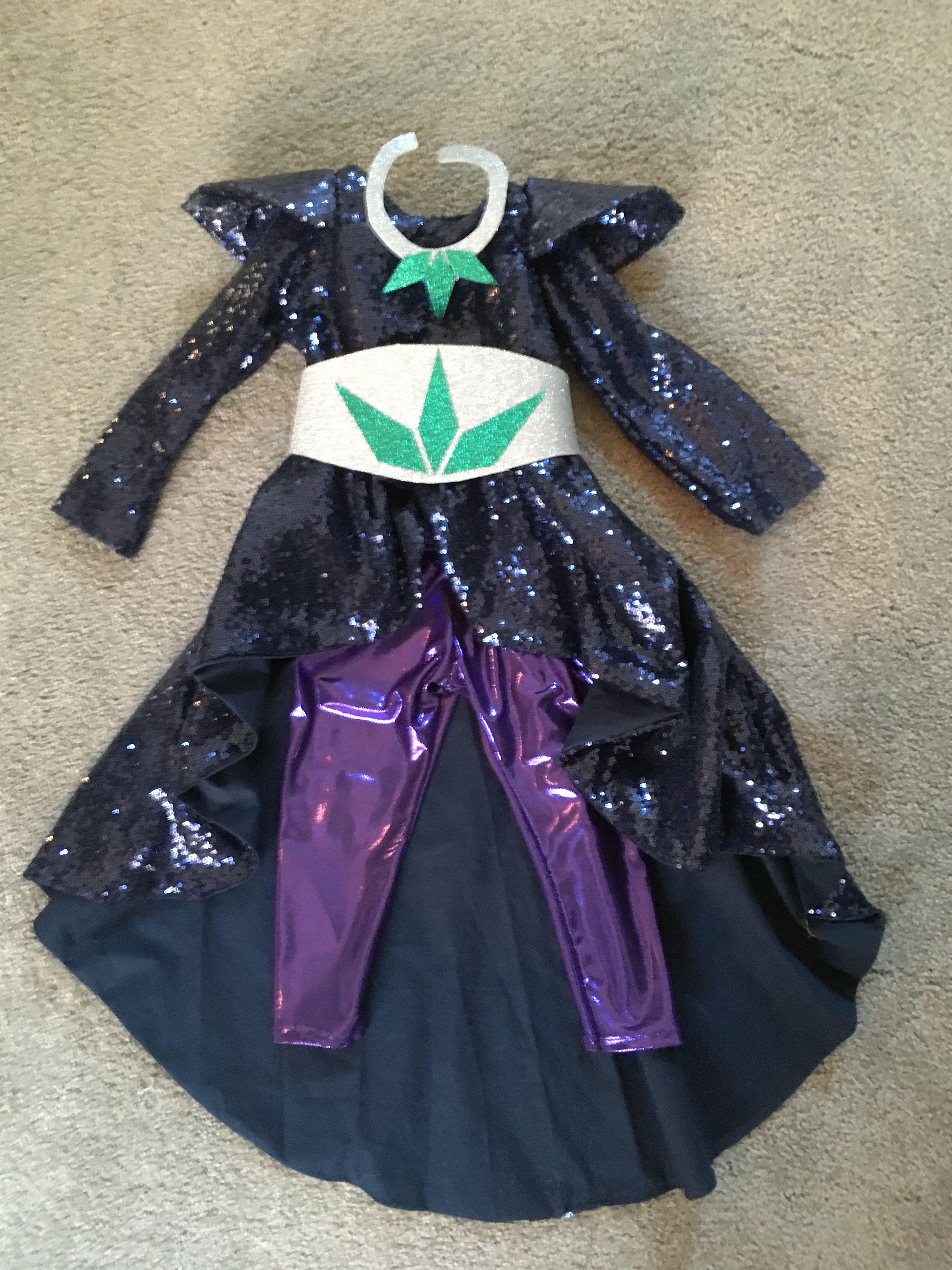 30ba9cb5df6 Zeta the sorceress, DIY kids costume, shimmer and shine costume ...