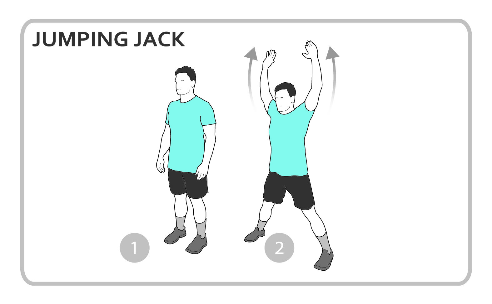 Jumping Jacks Diagram