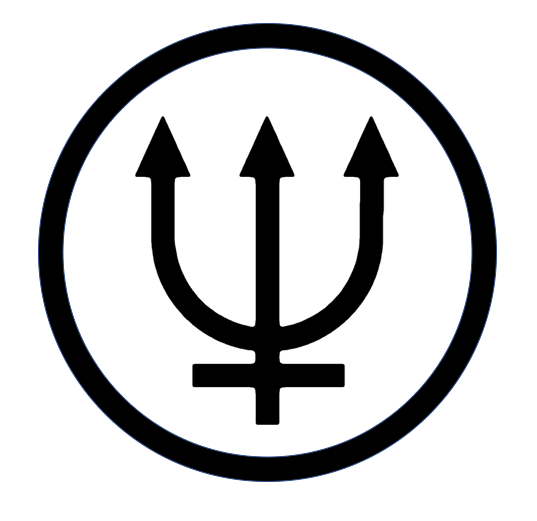 Neptune Symbol Planetary Patch The Trident Represents Various