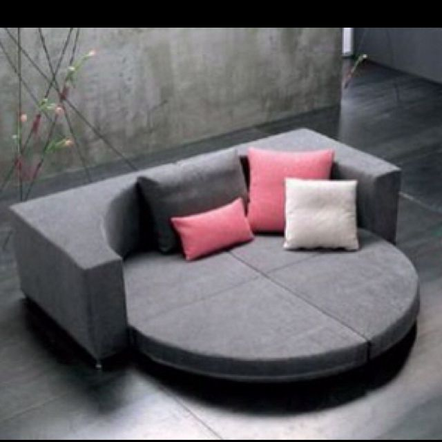 Round Couch Bed Too Cool With Images Round Sofa Best Sofa