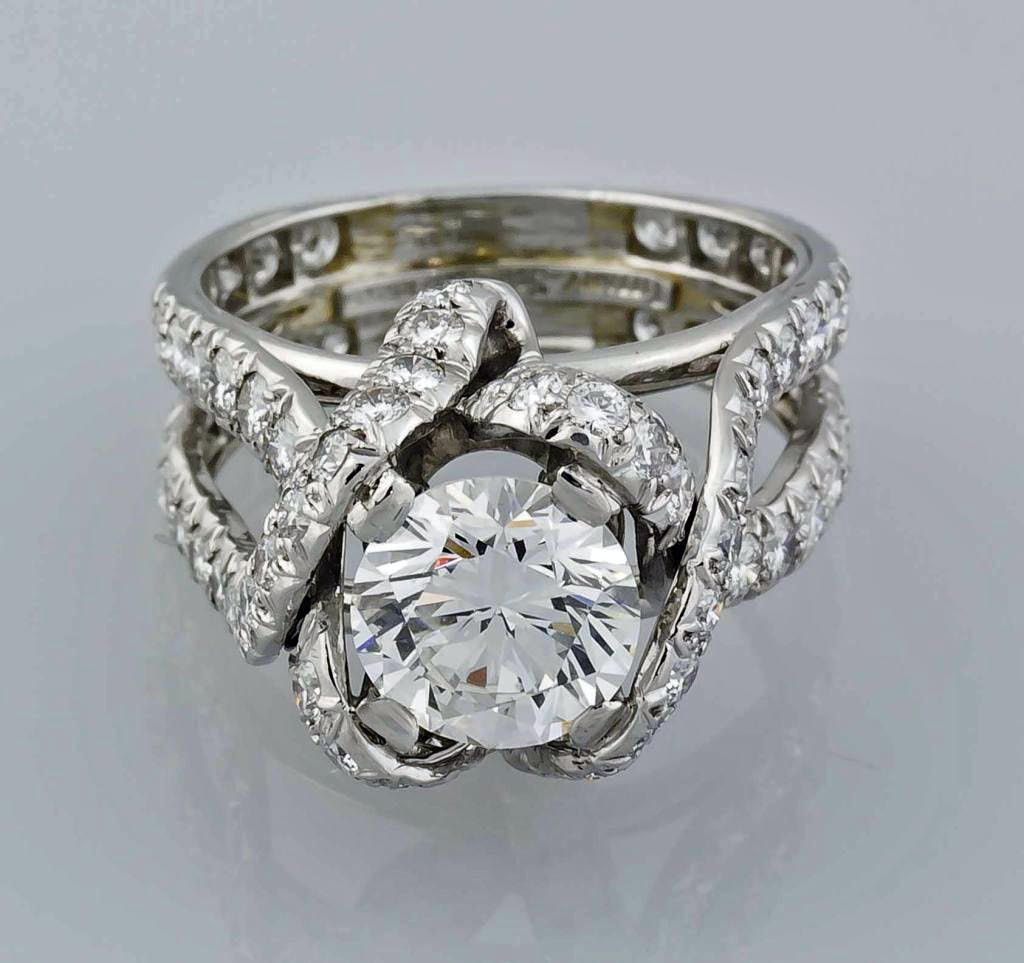 Unique Image of Carat Vintage Tiffany u Co Engagement Ring