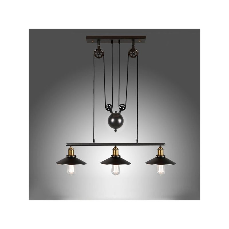 Buy ceiling lights american country wrought iron chandelier buy ceiling lights american country wrought iron chandelier industrial wind pendant 3 lights bulb included with aloadofball Choice Image