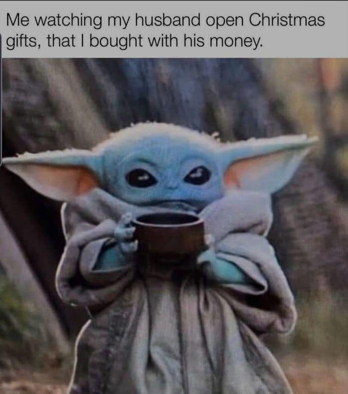 I Mean I Bought It Anyways Yoda Funny Star Wars Memes Yoda Meme