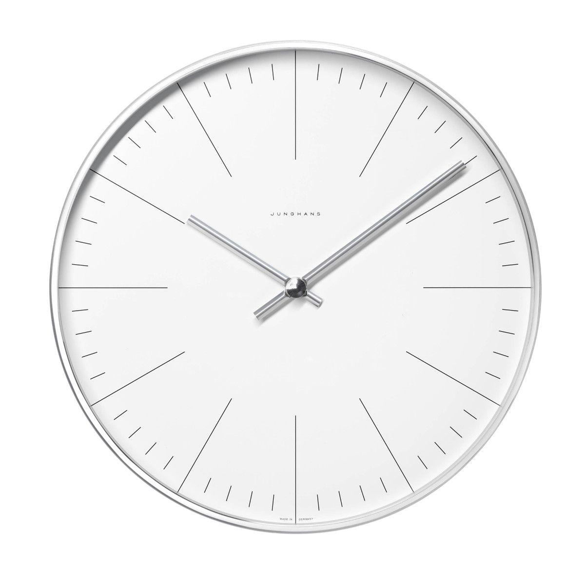 Max Bill Wall Clocks, Line