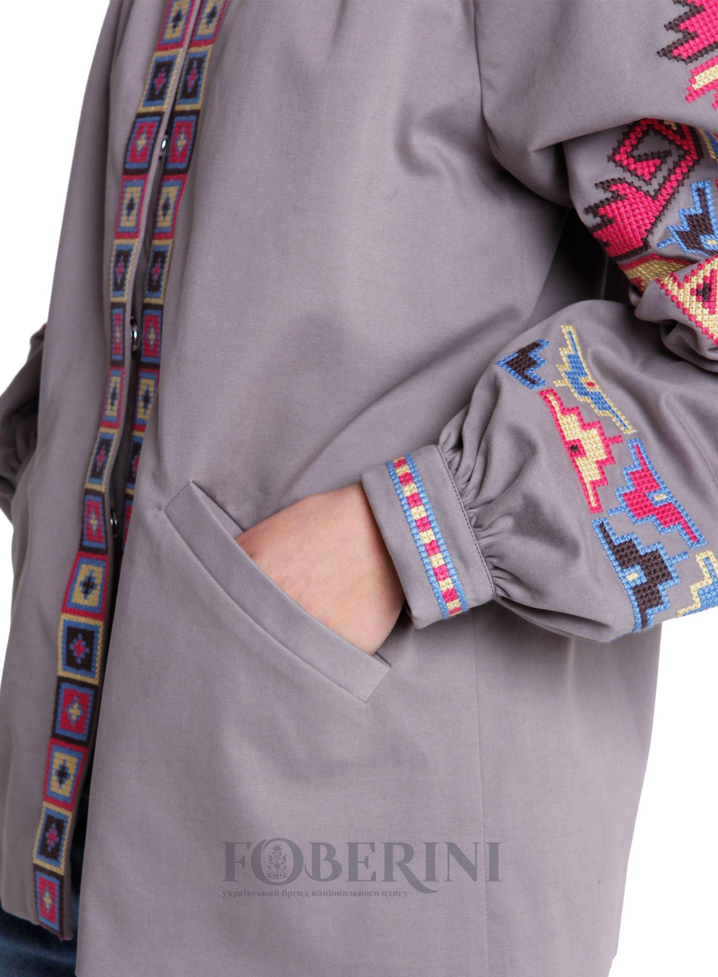 Куртка casual «Адель» - Foberni  2e6633f8342a1