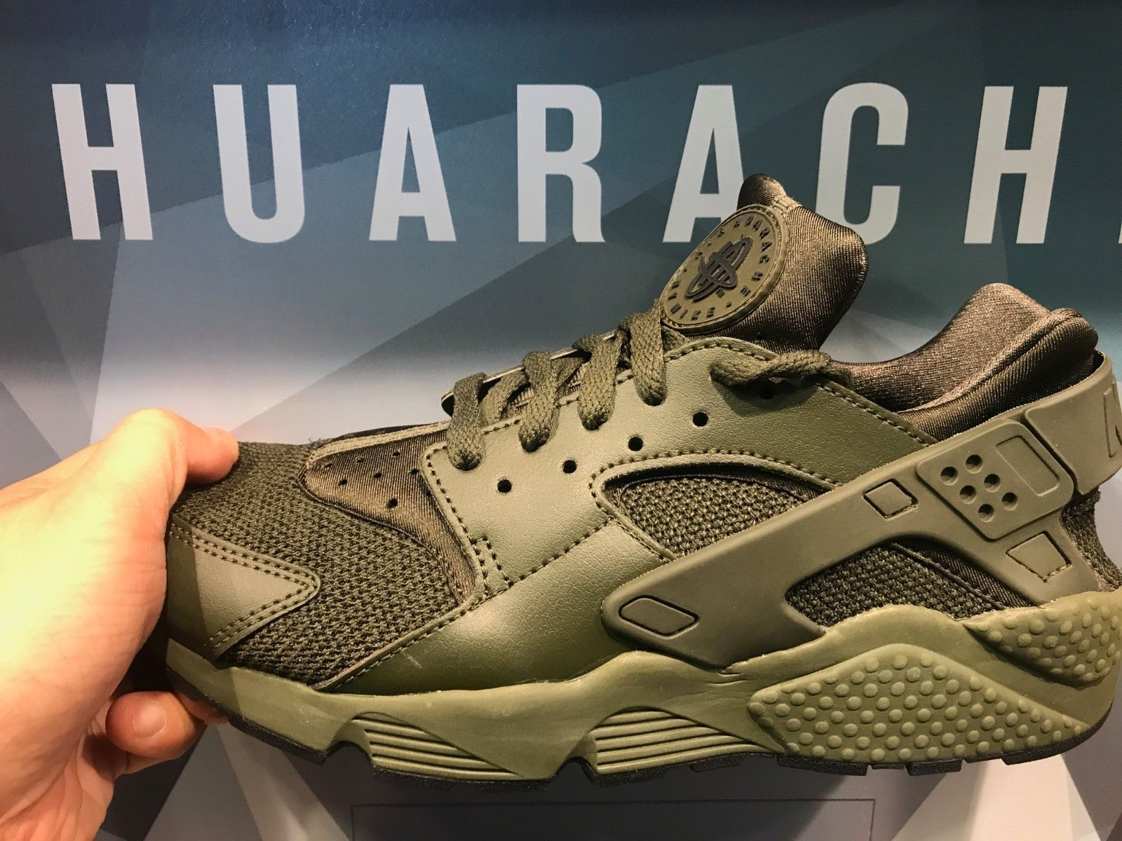 designer fashion 12fdf f8c6a Men 158971  Nike Air Huarache Olive Camo Men Sizes -  BUY IT NOW ONLY