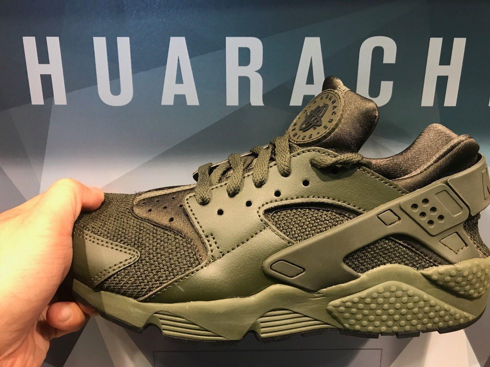 Men 158971: Nike Air Huarache Olive Camo Men Sizes -> BUY IT NOW ONLY