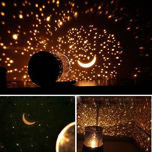 Star Master Sky Starry Night Light Lamp Projector Space Solar