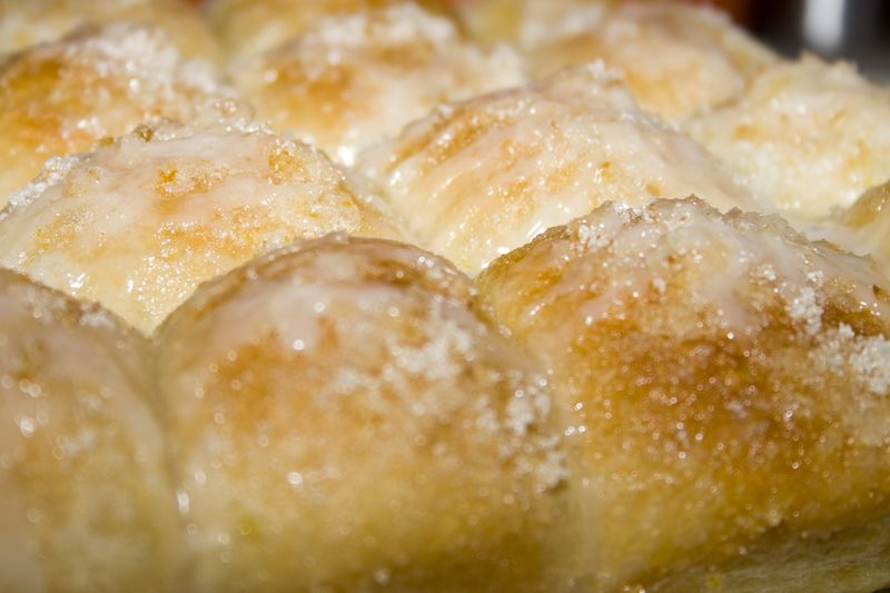 Lemon Monkey Bread.. super easy to make-- a little time for rising but this looks like something niceto make for an afternoon snack and tea!