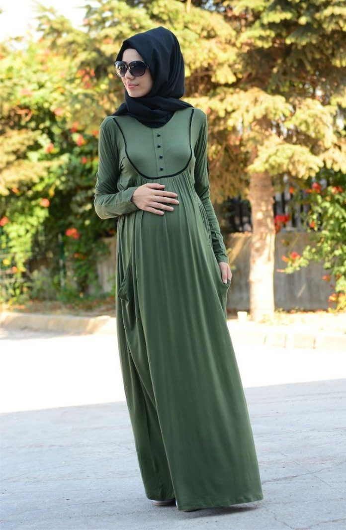 Tesettur Hamile Giyim Elbiseleri Kiyafetleri Ve Tavsiyeleri Elbise Modelleri Elbise Giyim