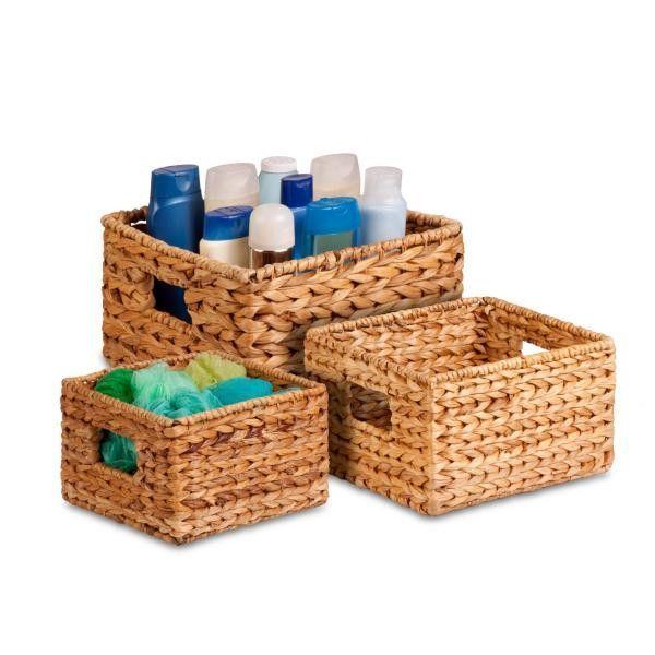 Nesting Basket Set - Natural / 3-Piece