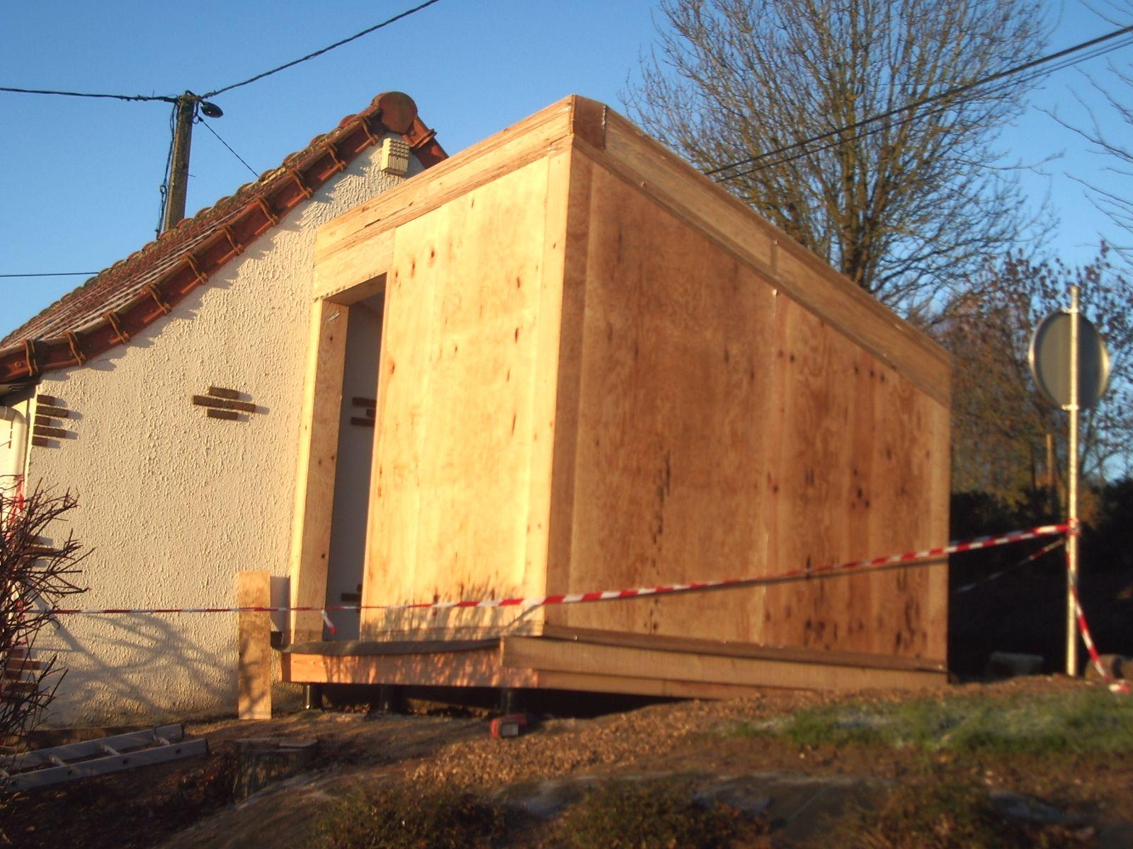 Extension Du0027une Maison Sur Plot De Fondation Hapax