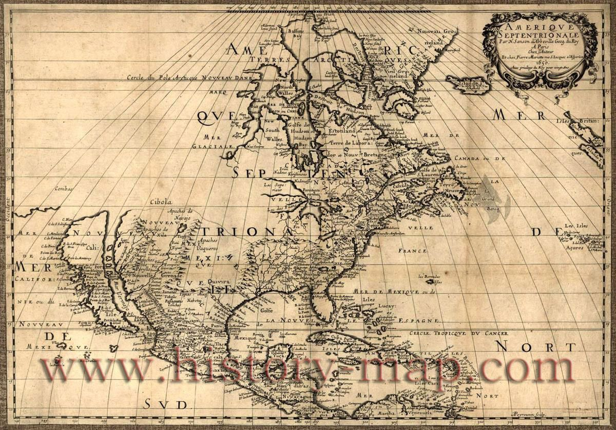 Old US Map Maps Pinterest Spain And United States Map Old - North america historical map 1845