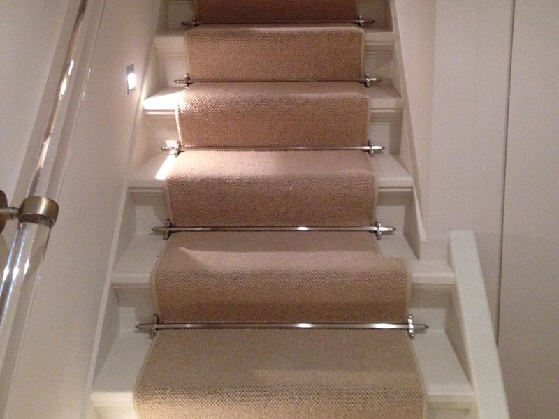 Good Client: Private Residence In West London Brief: To Supply U0026 Install Carpet  To Stairs