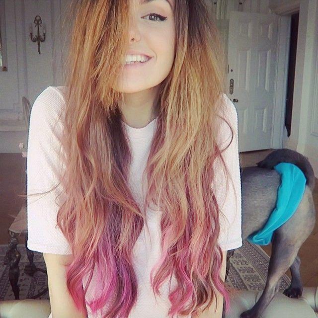 I Colored The Ends Of My Hair Again P P E O P L E Pinterest