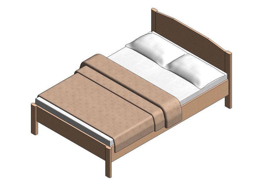 Best Image Result For Revit Bed Family Bed Revit 640 x 480