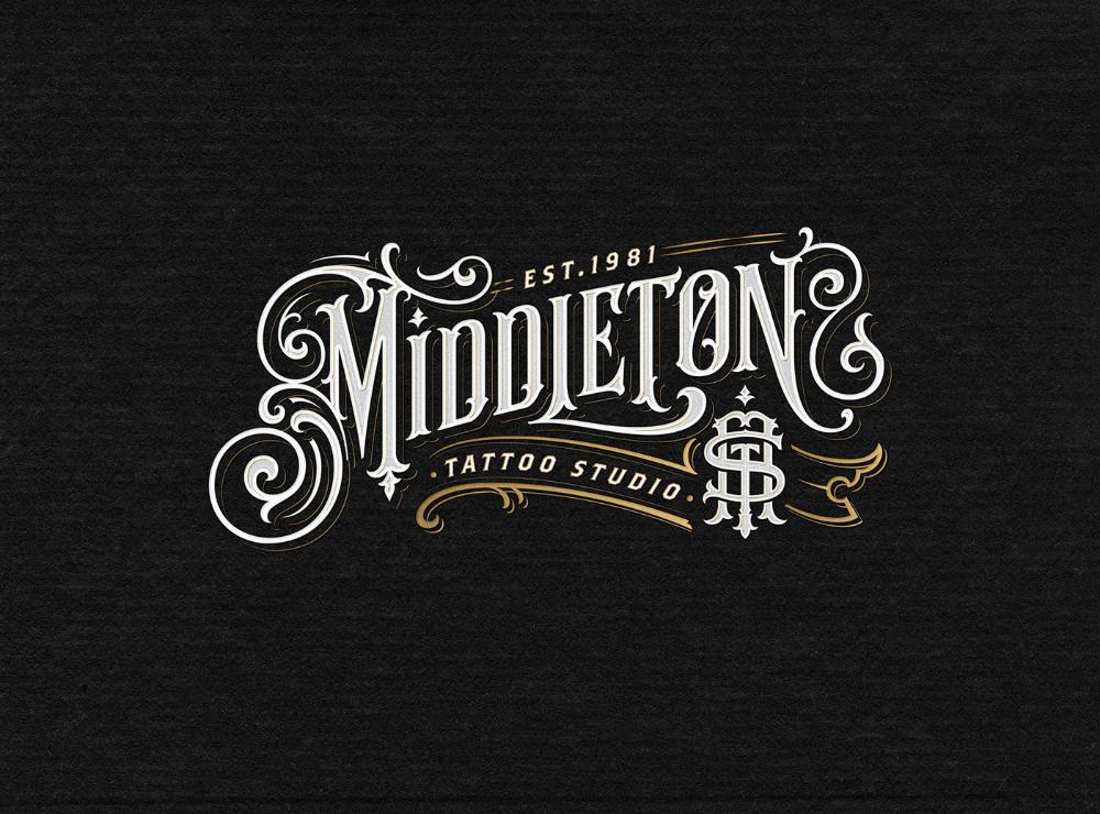 Vintage Style Lettering On Behance Vintage Logo Design Victorian Lettering Lettering