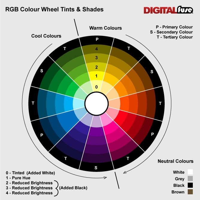 Image result for using a colour wheel