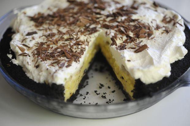 banana cream pie! yumm!