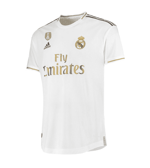 Real Madrid Home Man Football Soccer Jersey 2019/20 in 2021 | Real ...