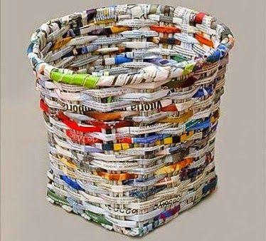 Bisnis Usaha Kreatif Membuat Kerajinan Dari Koran Bekas Ide