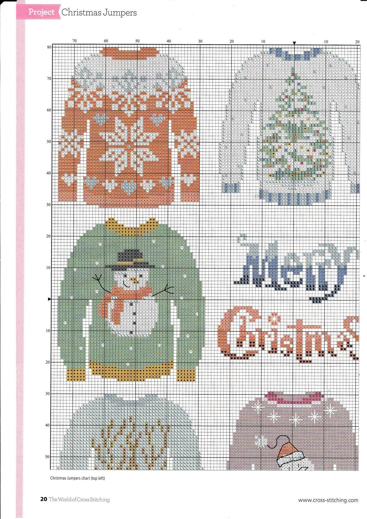 Vistoso Navidad Patrones De Punto Suéteres Patrón - Coser Ideas Para ...