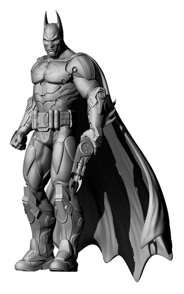 Batman Arkham City Statue Armored Batman - The Movie Store