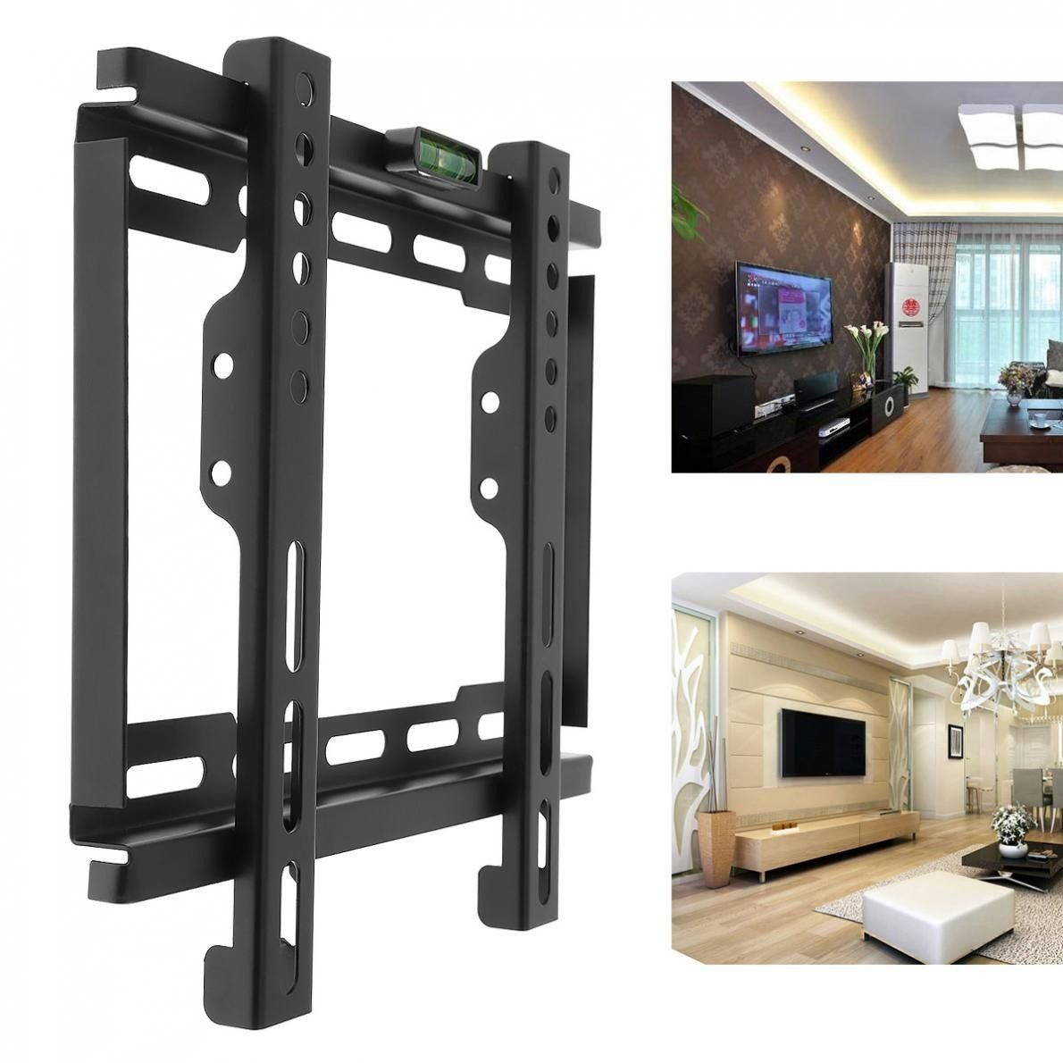 Universal Tv Wall Mount Bracket Lcd Led Frame Holder With Level Standard For Most 12 To 37 Inch H Tv Wall Mount Bracket Universal Tv Wall Mount Wall Mounted Tv