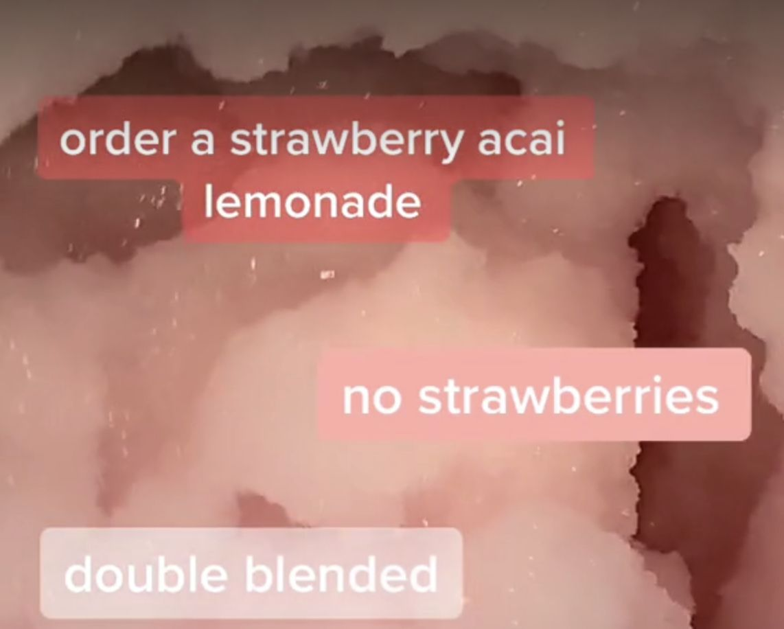 Pin by chloe nicole on drinks in 2020 strawberry acai