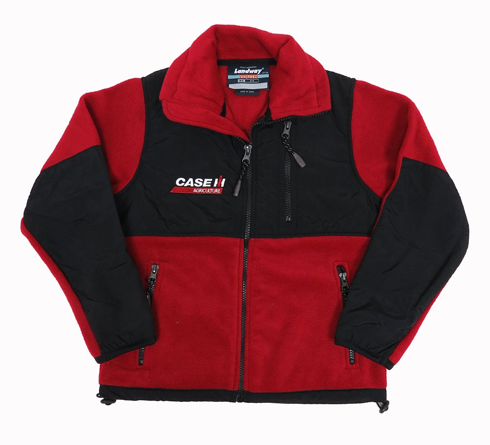 Case IH Infant Pink Jersey Lined Zip Hoodie Jacket