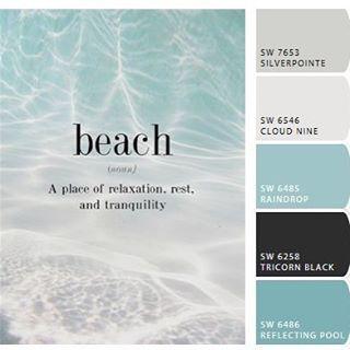Paint Colors Of Instagram 02 24 17 Beach House Colors Beach