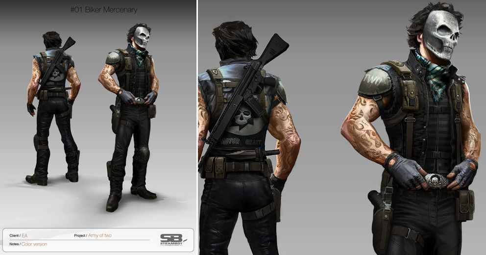 Army Of Two Ea Steambotstudios Com Army Of Two Character