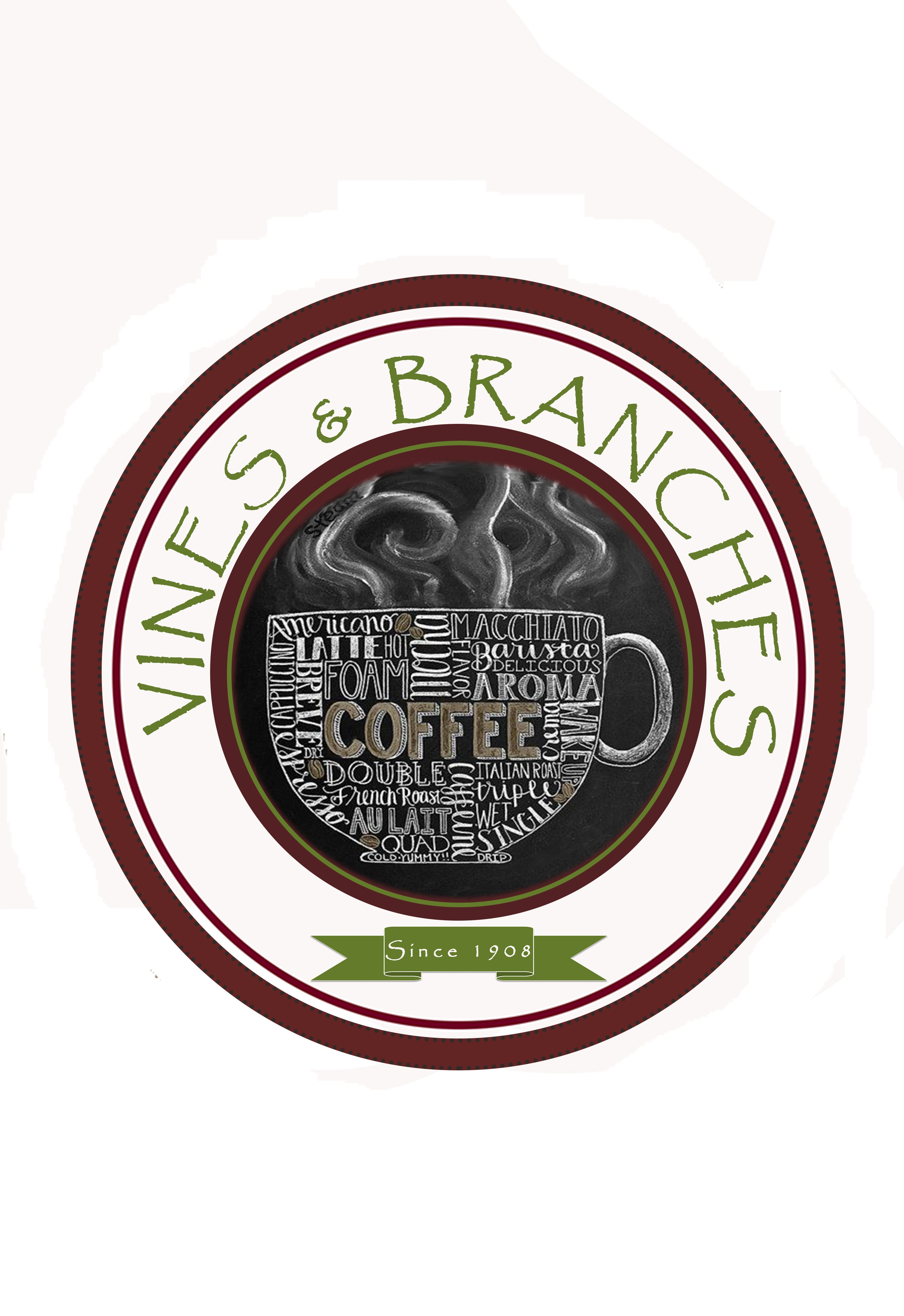 Sample Logo For My Dream Coffee Shop Hehe Mass Communication Desktop Publishing Coffee Shop
