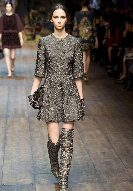 Défilé Dolce & Gabbana - Glamour