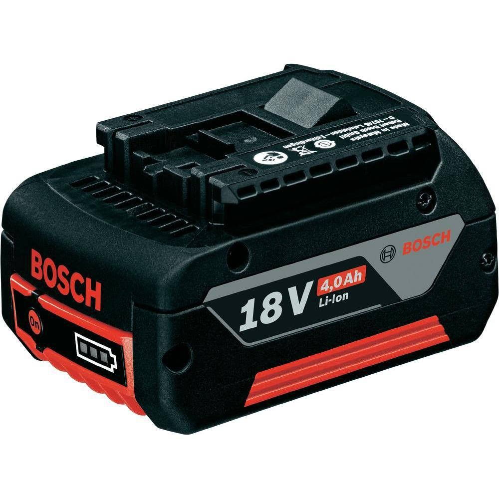 Bosch 18v 4 0 Ah Li Ion Battery Offers A Highly Durable Li Ion Technology It Electronic Cell Protection Has A Bu Lithium Ion Batteries Bosch Packing A Cooler