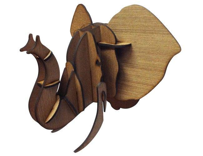 Troféu de parece Elefante JOTA - R$230,00 - decor8.com.br